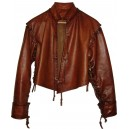 Jacobit Leather waistcoats with removable sleeves