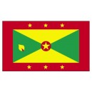 GRENADA FLAG FULL EMBROIDERY 3ft x 2ft