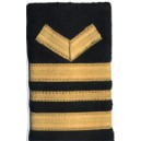 Officer Epaulettes And Shoulders Pair In Gold Wire