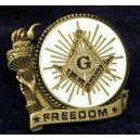 Prince Hall Masons Hand Embroidery Badge