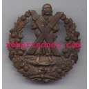 Cameron Officers bronze pre 1881 Cap Badges