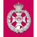 Bermuda Regiment White Metal  Cap Badges