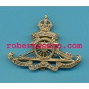 ROYAL HORSE ARTILLERY WEST RIDING.ARMY CAP BADGE