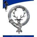 Metal Cap Badge In Brass