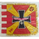 1936 to 1939 SPANISH CIVIL WAR CONDOR LEGION HAND EMBROIDERED COLORFUL FLAG
