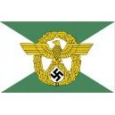 """Ordnung Polizei (Orpo) """"Regular Police"""" Swastika Flag"""