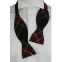 Self-Tie Tartan Bow Tie