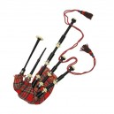 Great Highland Bagpipe made in African Blackwood