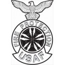 Firefighter Chief Badge
