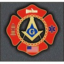 Fire Fighter USA Emblem