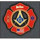 Fire Fighter USA Emblem