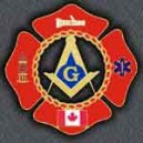 Firefighter Canada Car Emblem
