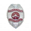 Volunteer Firefighter Stock Badge