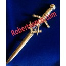 Masonic Kilt Pin In Nickle Plated
