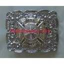 Firefighters Buckle With Maltese Cross Badge