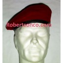 Original Maroon German Army Beret