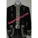 Silver Hand Embroidered Royal Doublet