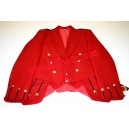 Red Regulation Doublet Kilt Jacket and Waistcoat