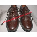 Brown Piper Ghillie Brogues