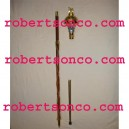 Drum Major's Maces with engraved head
