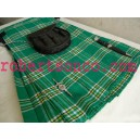 Irish National Piper/Drummer Tartan Kilt