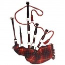 Great Highland Bagpipe made in rose wood