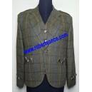 Hitchcock Olive Check Tweed Jacket