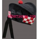 Black Glengarry Hat