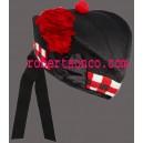 Black Glengarry Hat