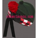 Dark Green Glengarry Hat
