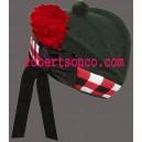 Dark Green Glengarry Hat