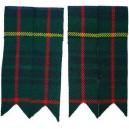 Hunting Stewart Tartan Kilt Sock Flashers