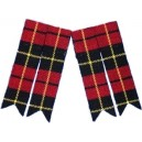 Wallace Tartan Kilt Sock Flashers