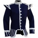 Navy Blue Pipe Band Doublet