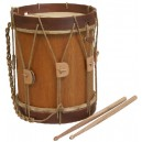 """Renaissance Drum 6"""" x 9"""" with beaters"""