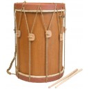 "Renaissance Drum 13"" x 13"" with beaters"