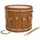 "Renaissance Drum 13"" x 19"" with beaters"