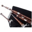 Lowland Bagpipe made in rose wood