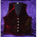 Red Velvet Waistcoat