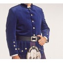 Navy Blue Kenmore Doublet With Waist Belt