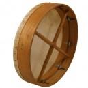 Bodhran 18 inch x 3 1/2 inch rose wood frame