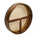 Bodhran 26 inch x 3 1/2 inch rose wood inside tunable of the frame