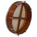 Bodhran 16 inch x 3 1/2 inch rose wood outside tunable of the frame