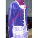 Light Blue Ladies Highland Dance Jacket