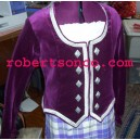 Wine Ladies Highland Dance Jacket