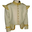 Brilliant Off  White Blazer wool Doublet