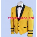 Yellow Mess dress Jacket