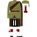 Piper Of The Cameron Highlanders