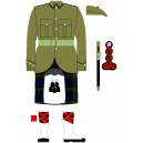 Khaki Jacket Battalion Service Dress