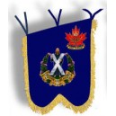 Pipe banner Winnipeg Highland Cadets